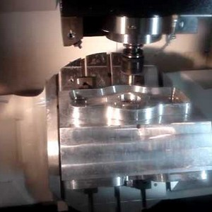 Usinagem cnc moldes